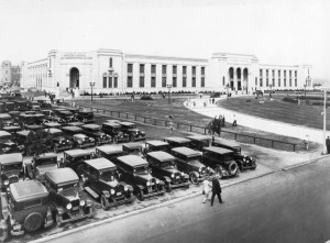 In 1929, the Art Deco-designed Automotive Building opened at Toronto's Canadian National Exhibition for auto shows